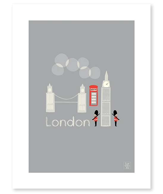 Affiche London - Lilipinso