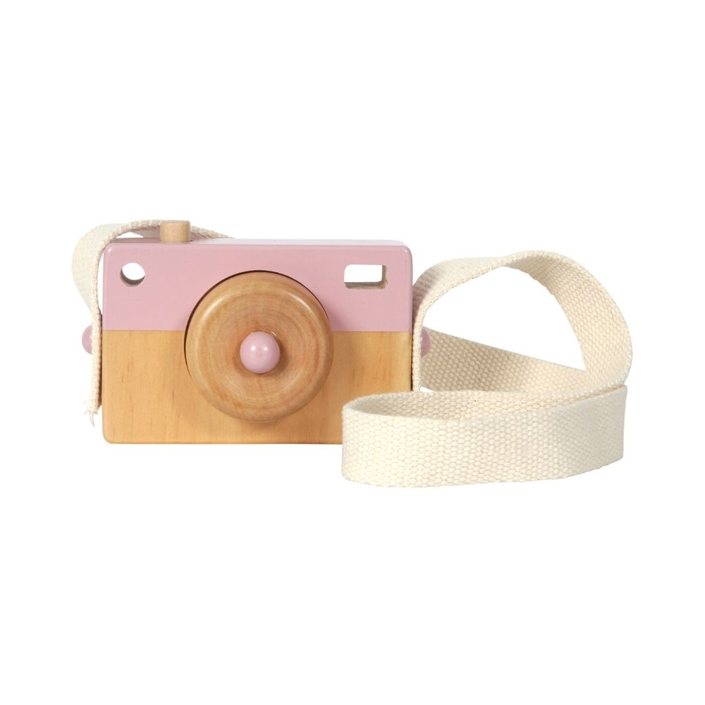 Appareil photo en bois Adventure pink - Little Dutch