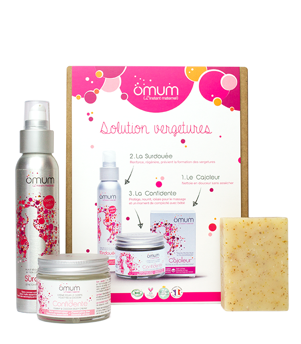 Coffret Soin Bio SOLUTION VERGETURES - OMUM