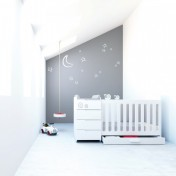 Lit bébé évolutif Mini Evolutive K 352 de Alondra