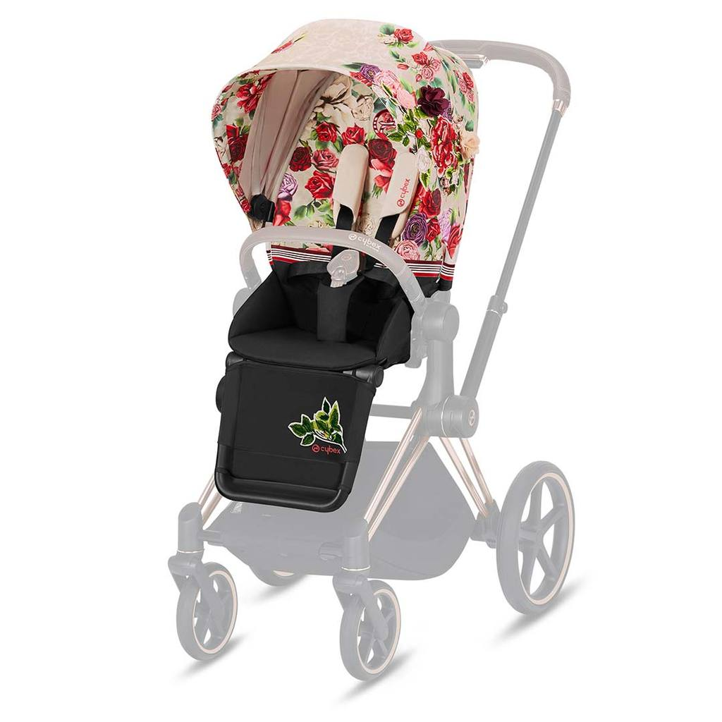 Pack Siège PRIAM Collection Fashion | Spring Blossom Light - Cybex