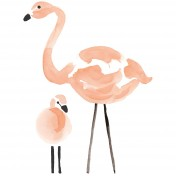 Stickers Flamant Rose - Lilipinso