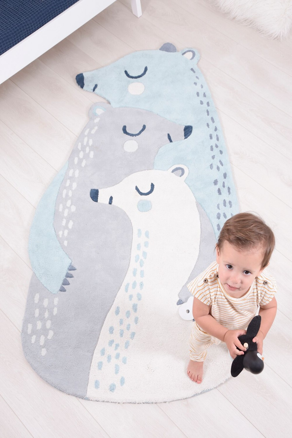 Tapis Les 3 Ours - Lilipinso