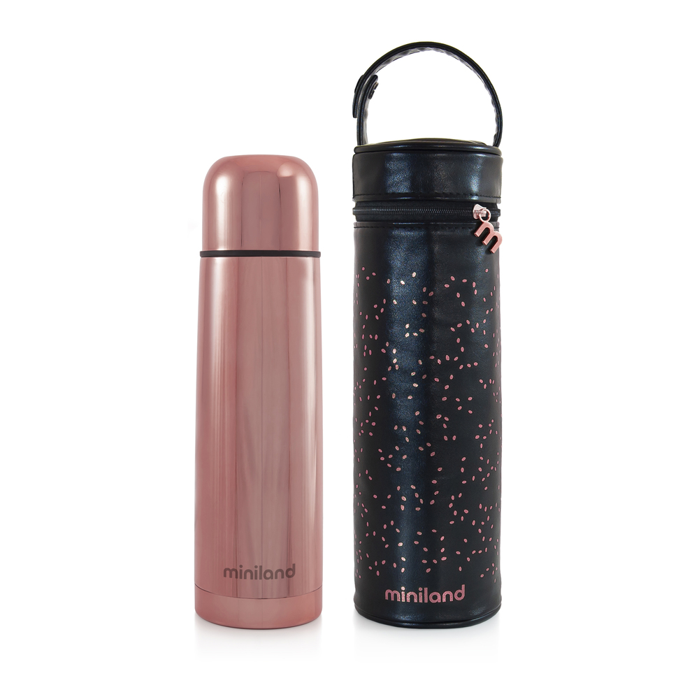 Thermos 500 ml DELUXE THERMOS Rose - Miniland