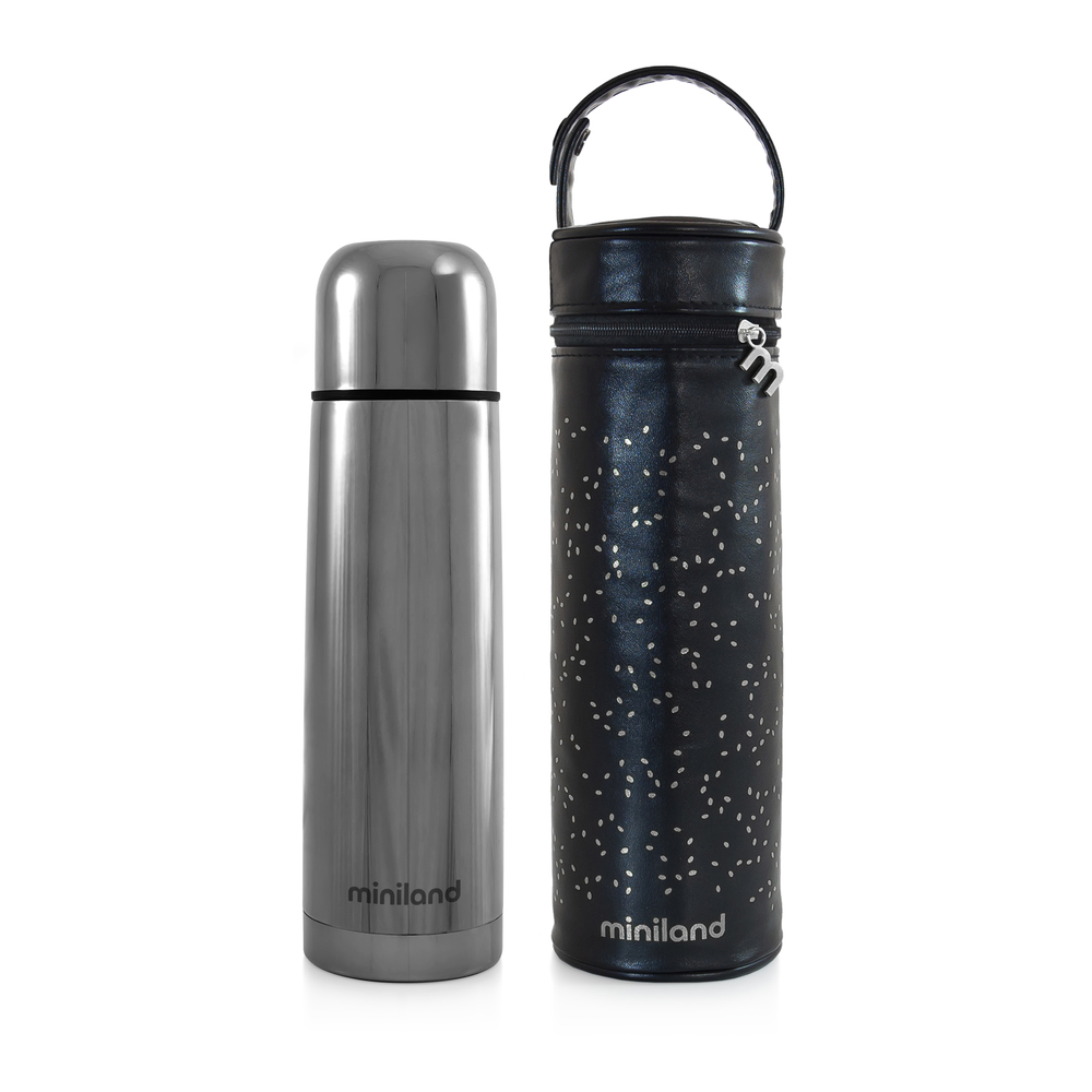 Thermos 500 ml DELUXE THERMOS Silver - Miniland