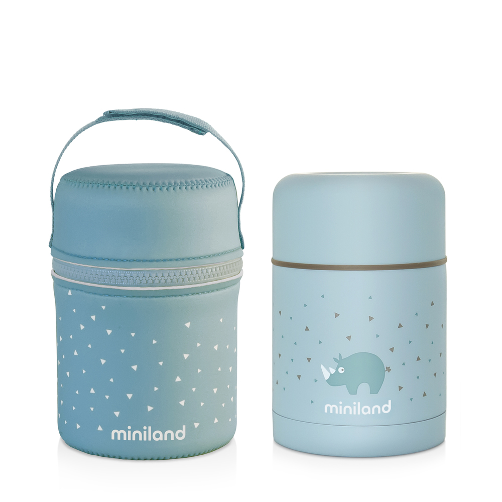 Thermos pour aliments solides 600 ml SILKY FOOD THERMOS - Miniland